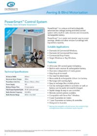 PowerSmart Technical Specifications