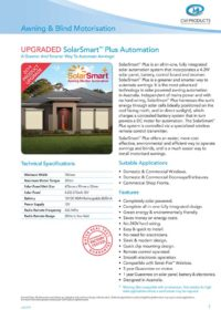 SolarSmart Technical Specifications