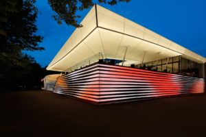 Mehler Fabric used in Casino Bregenz 2015 by Marcel Mayer