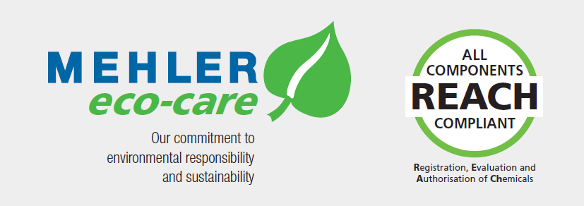 Mehler eco-care commitment to sustainability and REACH compliance