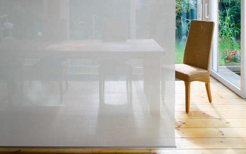 VALMEX® TF Attractive FR PVC Mesh filters light through an interior screen