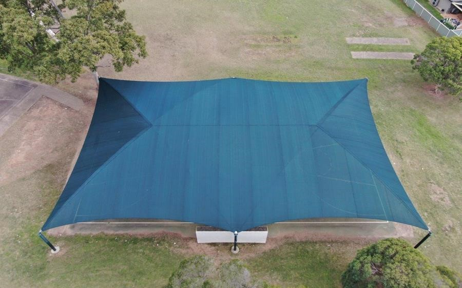 extreme32 shade cloth used at Ruse Public School AU