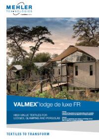 MEHLER VALMEX® Lodge Deluxe FR BROCHURE