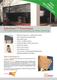 SolarSmart Product Brochure
